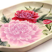 Trays handmade. Livemaster - original item tray. Handmade.