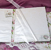 Комплекты одежды ручной работы. Ярмарка Мастеров - ручная работа Папка для свидетельства о рождении девочки. Handmade.