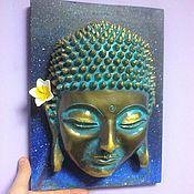 Для дома и интерьера handmade. Livemaster - original item Buddha on the wall Buddha Mask Sculpture Buddha. Handmade.
