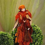 Куклы и игрушки ручной работы. Ярмарка Мастеров - ручная работа Осенняя мелодия. Handmade.