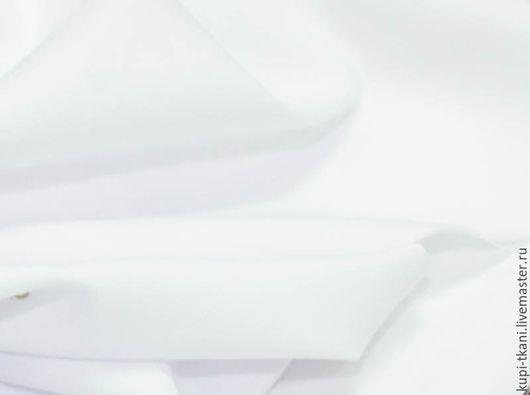 Шитье ручной работы. Ярмарка Мастеров - ручная работа. Купить Габардин белый  Корея. Handmade. Габардин, ткань для творчества