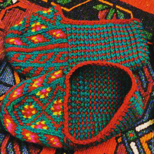 Этническая одежда ручной работы. Ярмарка Мастеров - ручная работа. Купить Джурабки. Тапочки. Носки. Гольфи. Handmade. Джурабы, синтетика