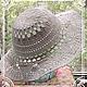 Шляпы ручной работы. Заказать Шляпа вязаная. Вязаные радости от Катюши. Ярмарка Мастеров. Шляпа, шляпа крючком, вязаная шляпка