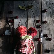 Куклы и игрушки ручной работы. Ярмарка Мастеров - ручная работа Мальчик Вишенка. Handmade.