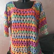 Одежда handmade. Livemaster - original item tunic: Summer tunic