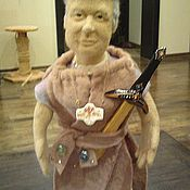 Куклы и игрушки ручной работы. Ярмарка Мастеров - ручная работа Портретная кукла - Король мечей. Кукла из шерсти, 45 см. Handmade.