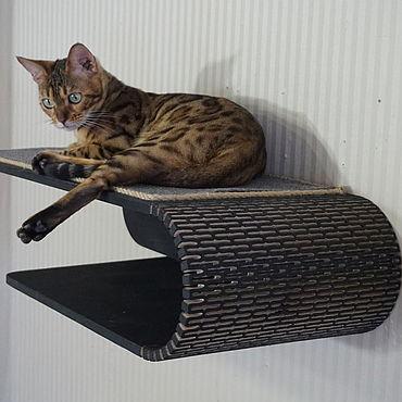 """Для домашних животных, ручной работы. Ярмарка Мастеров - ручная работа Полка настенная """"Светлана-2"""". Handmade."""