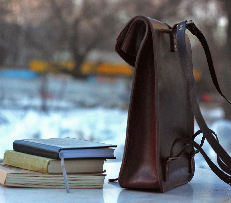 Рюкзаки из жесткой кожи рюкзак оутвентуре трекер 55