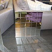 Для дома и интерьера ручной работы. Ярмарка Мастеров - ручная работа Зеркало из зеркальных элементов. Handmade.