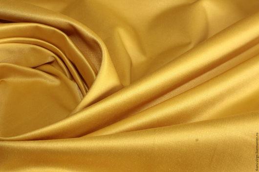 Шитье ручной работы. Ярмарка Мастеров - ручная работа. Купить Плотный плательно-костюмный атлас на хлопковой основе,1050руб-м. Handmade.