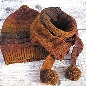 Аксессуары handmade. Livemaster - original item Hat scarf-Bacchus. Handmade.