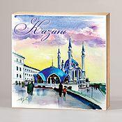 Сувениры и подарки handmade. Livemaster - original item Souvenir magnets Kazan. Handmade.