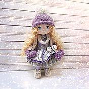 Тыквоголовка ручной работы. Ярмарка Мастеров - ручная работа Кукла текстильная Зимняя девочка. Handmade.