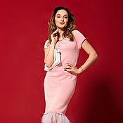 """Одежда ручной работы. Ярмарка Мастеров - ручная работа Платье """"Жизнь в розовом цвете"""". Handmade."""