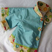 Работы для детей, ручной работы. Ярмарка Мастеров - ручная работа Курточка для малышки: Лето в сентябре. Handmade.