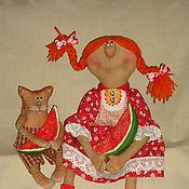 Куклы и игрушки ручной работы. Ярмарка Мастеров - ручная работа Арбузное настроение. Handmade.