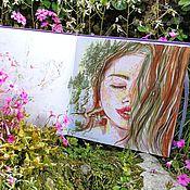 Картины и панно handmade. Livemaster - original item Floral - painting on paper. Handmade.