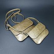 Сумки и аксессуары handmade. Livemaster - original item Women`s leather bag. Small handbag. Envelope, clutch bag.. Handmade.