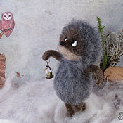 Куклы и игрушки handmade. Livemaster - original item hedgehog in the fog. Handmade.
