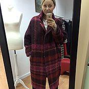 Одежда handmade. Livemaster - original item Coat made of a warm mohair Alpaca. Handmade.