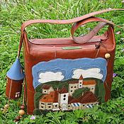 """Classic Bag handmade. Livemaster - original item Bag """"Cesky Krumlov"""". Handmade."""