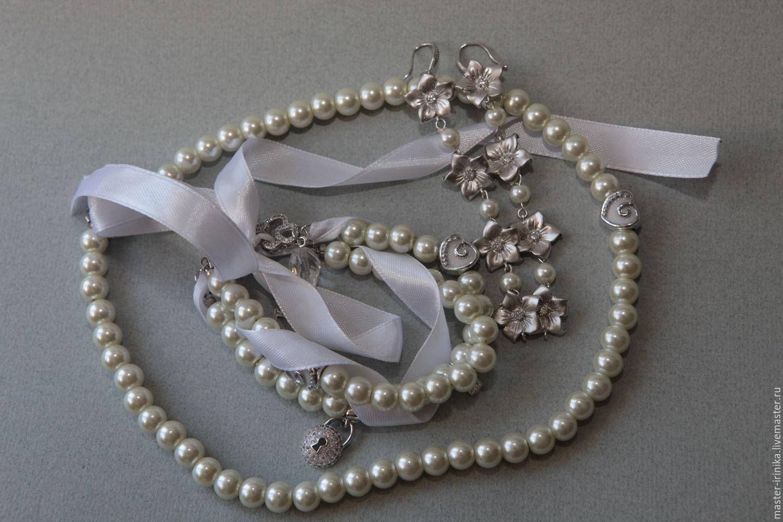 Браслет невесты Ключи от сердца