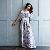 Одежда handmade. Livemaster - original item Dress lace cotton boho.. Handmade.