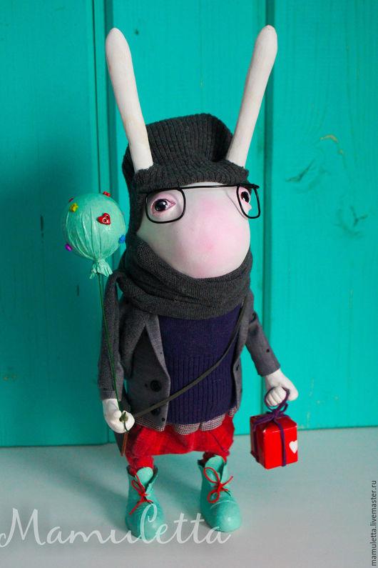 Коллекционные куклы ручной работы. Ярмарка Мастеров - ручная работа. Купить Лучший твой подарочек.... Handmade. Разноцветный, хипстер
