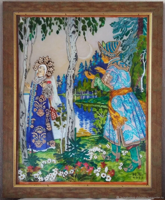 Царевна-лягушка по мотивам И Билибина, Картины, Санкт-Петербург, Фото №1
