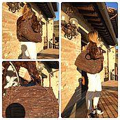 Винтаж ручной работы. Ярмарка Мастеров - ручная работа Бронь.Италия. Женская сумочка из натуральной кожи. Handmade.