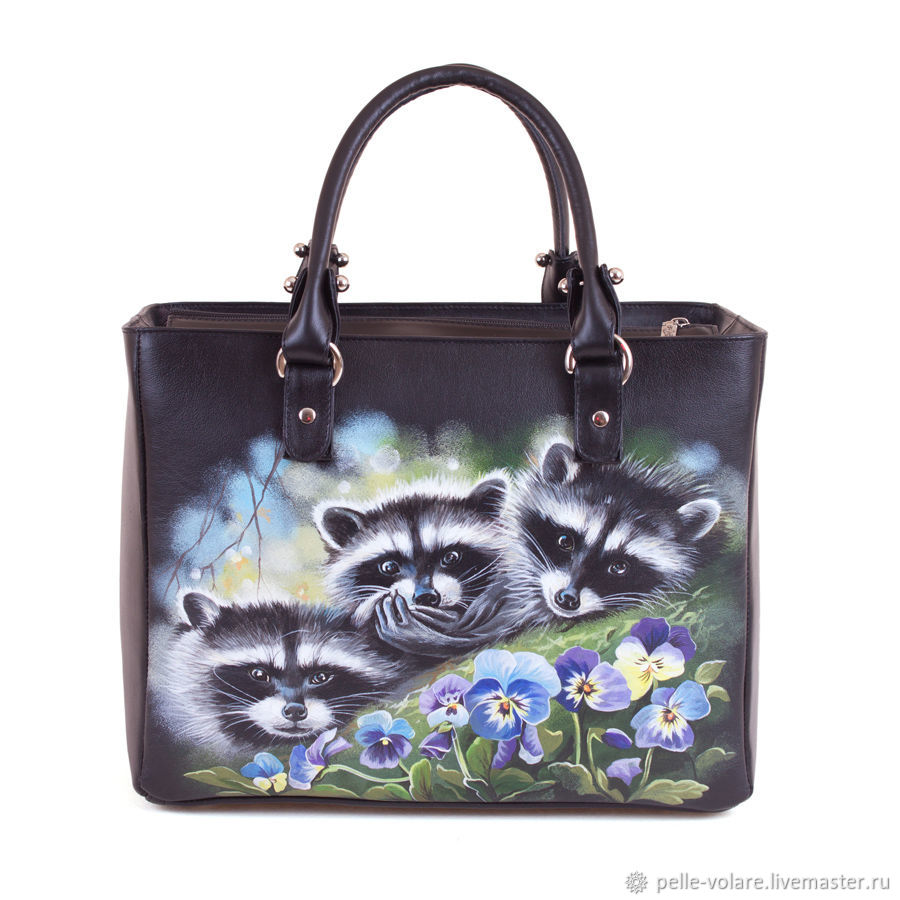 Large womens leather bag 'Enotice', Classic Bag, St. Petersburg,  Фото №1