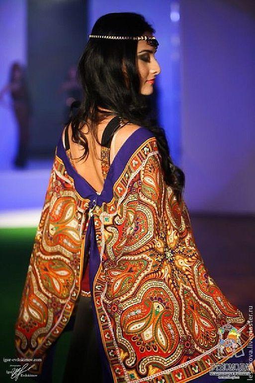 """Платья ручной работы. Ярмарка Мастеров - ручная работа. Купить Платье """"Принцесса востока"""". Handmade. Черный, этно-стиль, актуальное"""