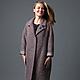 Пальто из ткани букле в модном оттенке AMODAYПальто из ткани букле в модном оттенке AMODAY, кокон пальто, оверсайз пальто демисезонное для примера