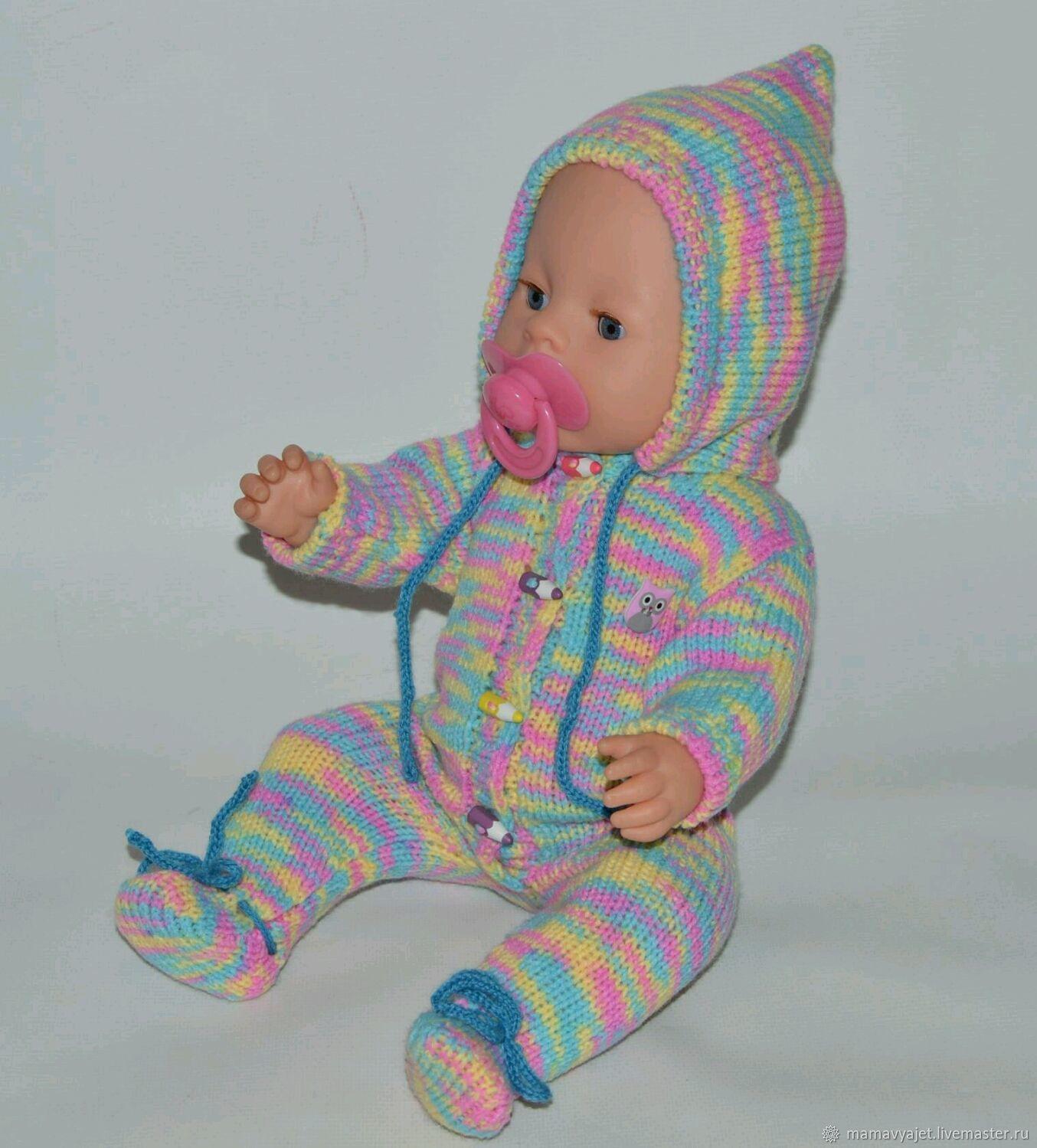 вязаная одежда для пупсов и кукол одежда для беби бон и не только