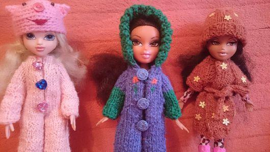 Одежда для кукол ручной работы. Ярмарка Мастеров - ручная работа. Купить Комбинезон и комплект пальто+ шапочка по 235 р. Handmade.