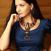 Украшения handmade. Livemaster - original item necklace earring set
