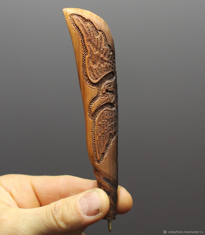 Ручка Ворон (яблоня,янтарь).д5, Ручки, Чебоксары,  Фото №1