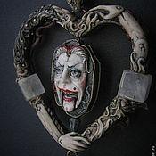 "Украшения ручной работы. Ярмарка Мастеров - ручная работа Кулон ""The Duchess & the Hatter"". Handmade."