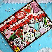 Сувениры и подарки handmade. Livemaster - original item Gingerbread Birthday. Set cakes for girls. Handmade.