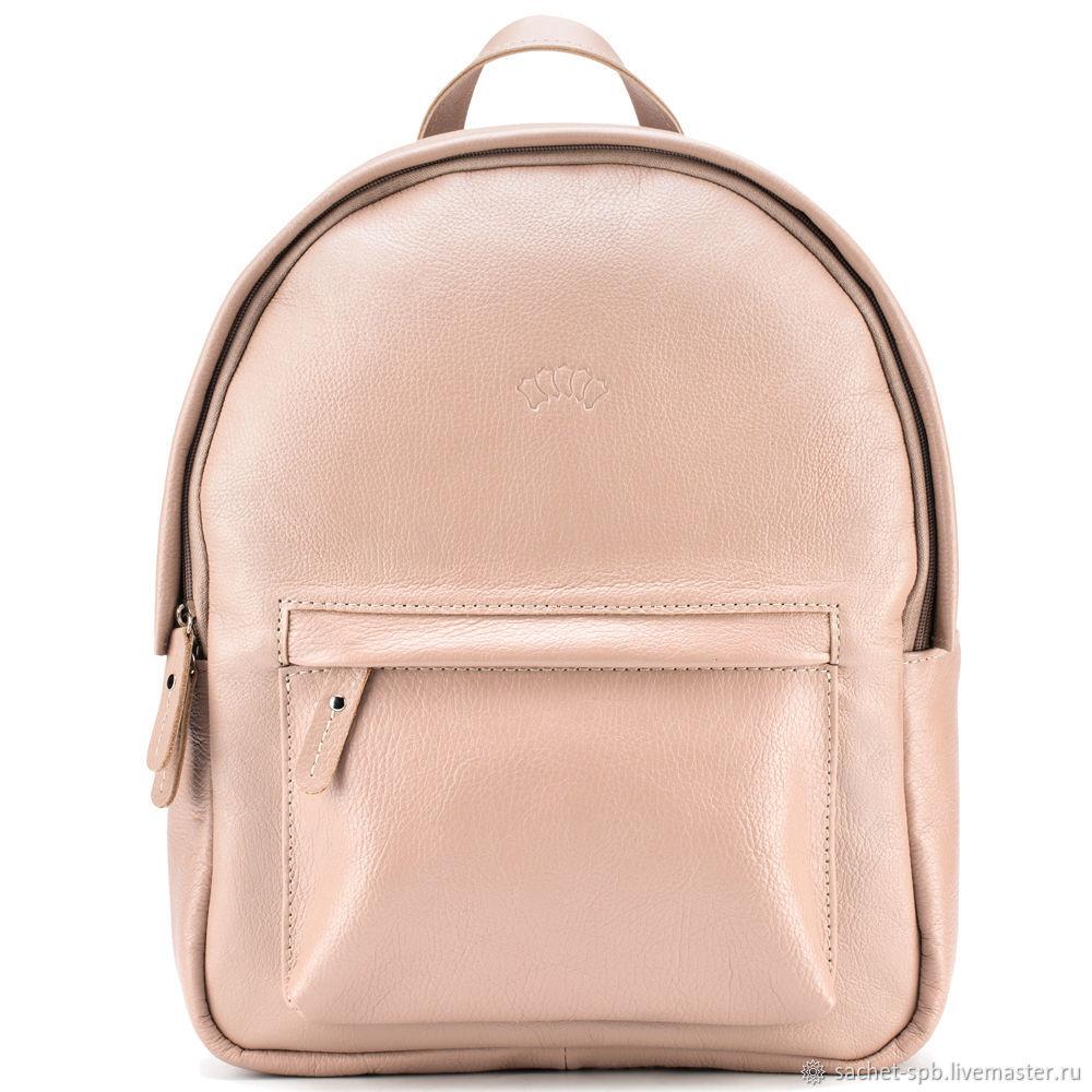 Leather backpack 'Stephania' (beige), Backpacks, St. Petersburg,  Фото №1