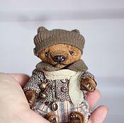 Куклы и игрушки ручной работы. Ярмарка Мастеров - ручная работа DINN тедди мишка. Handmade.