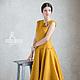 Платья ручной работы. Валяное платье «Cute». Irina Demchenko. Ярмарка Мастеров. Дизайнерское платье, специи, Шёлк 100%