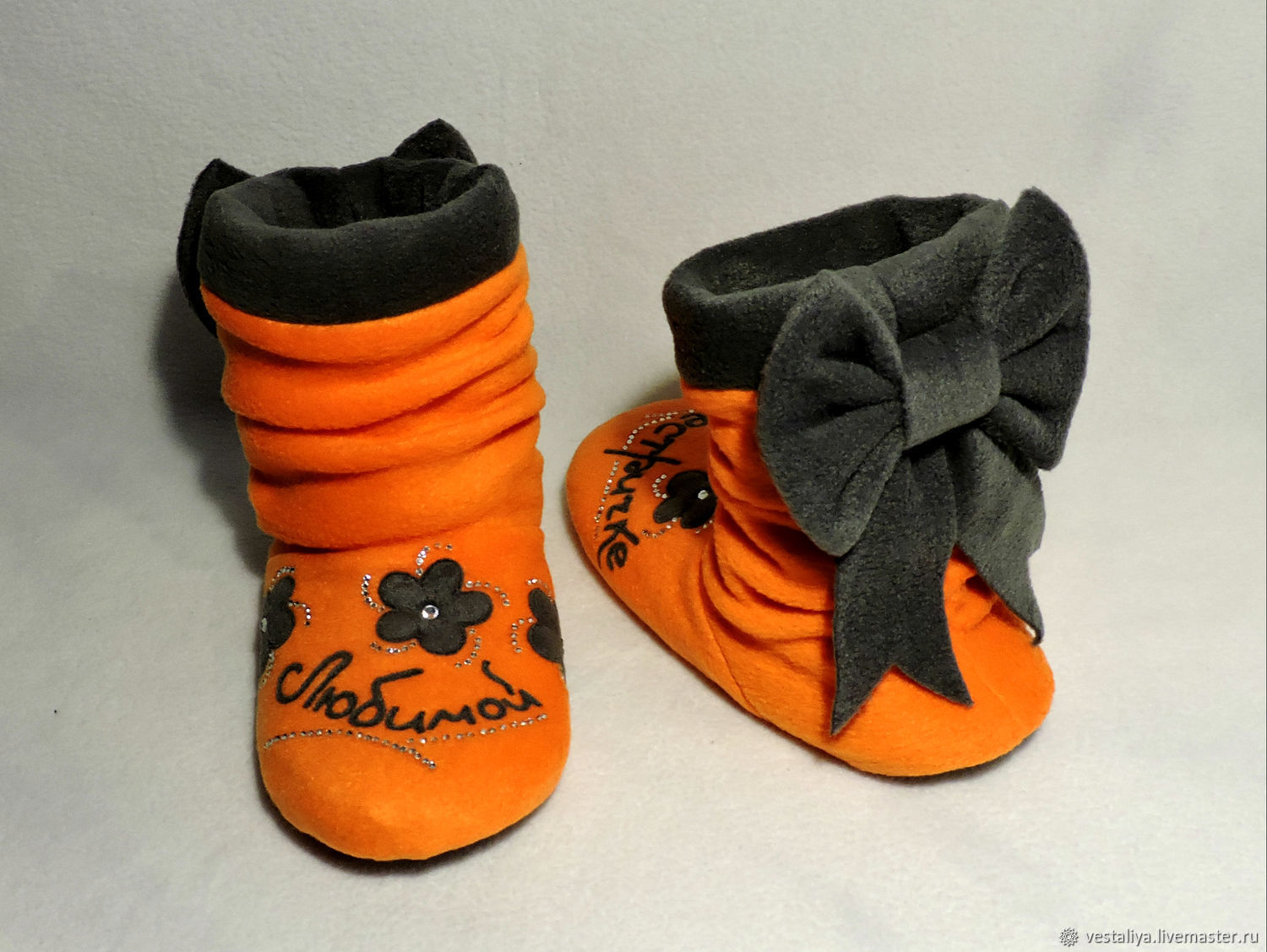 Slippers-boots for loved ones, Slippers, Novosibirsk,  Фото №1