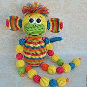 Куклы и игрушки handmade. Livemaster - original item Monkey Is a toy crocheted. Handmade.