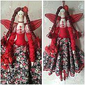 Куклы и игрушки ручной работы. Ярмарка Мастеров - ручная работа Фея цветов Лиза. Handmade.