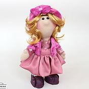 Куклы и игрушки ручной работы. Ярмарка Мастеров - ручная работа Текстильная кукла Ксюша. Handmade.