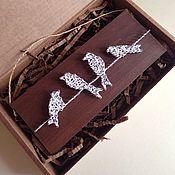 Картины и панно ручной работы. Ярмарка Мастеров - ручная работа Панно в технике string art. Handmade.