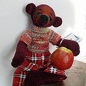 Куклы и игрушки ручной работы. Ярмарка Мастеров - ручная работа мишка Романтик. Handmade.