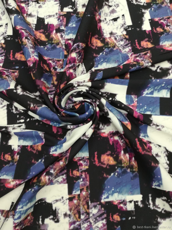 Шитье ручной работы. Ярмарка Мастеров - ручная работа. Купить Ткань итальянская Ш-150 шелк Италия. Handmade. Платье