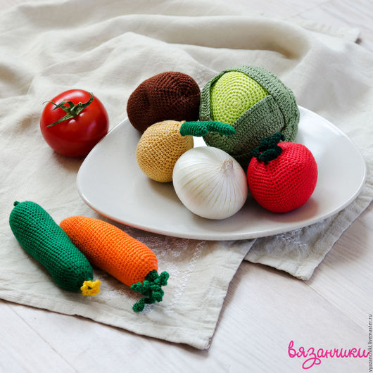 Еда ручной работы. Ярмарка Мастеров - ручная работа. Купить Вкусные овощи. Handmade. Комбинированный, фрукты, еда, повар